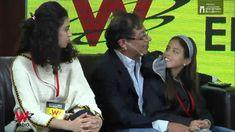 Gustavo Petro en la W, entrevista con su familia