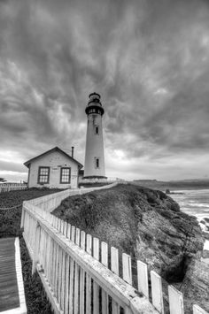 Pigeon Point Lighthouse, Hwy. 1, California