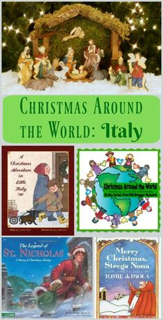 Christmas around the World -  Italian traditions and activities for kids & families!