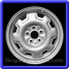 Dodge Caravan 1986 Wheels & Rims Hollander #1413  #Dodge #Caravan #DodgeCaravan #1986 #Wheels #Rims #Stock #Factory #Original #OEM #OE #Steel #Alloy #Used