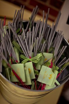Wedding-Sparkler (Favors or just for fun) not expensive at all! Great idea for your guests to enjoy!