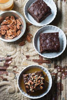 Fudgy Vegan Pecan Brownies