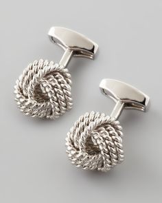Stamp his look with class and style. These contemporary Tateossian cufflinks are the ideal gift for him this Christmas.