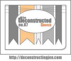 Deconstructed Sketch No. 87 - deconstructing jen | handmade cards, sketches and tutorials