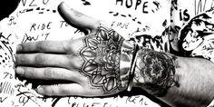 Zayn Malik Hand Tattoo