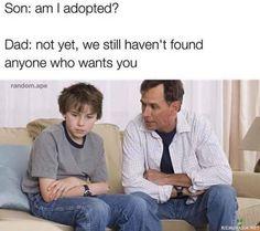 Olenko adoptoitu?