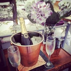 A special bottle of for our guests tonight, we can arrange little extras to make your stay a 🍾 Longberry Farm Glamping.Camping with Style Quirky Places To Stay, Bell Tent, Luxury Camping, Dog Friends, Glamping, Bubbles, Holiday Break, Make It Yourself, Countryside