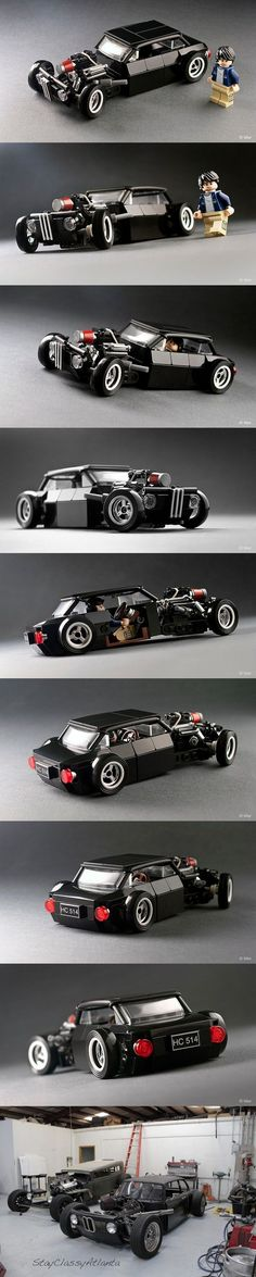 Some awesome person lego-ed the BMW 2002 Rat Rod Lego Cars, Lego Auto, Lego Boat, Lego Mecha, Lego Mini, Amazing Lego Creations, All Lego, Bmw 2002, Lego Design