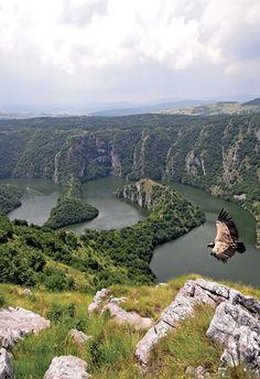 Uvac River Gorge, Serbia