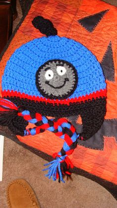 Kids Crochet Hat by jeanneramelli on Etsy, $16.50