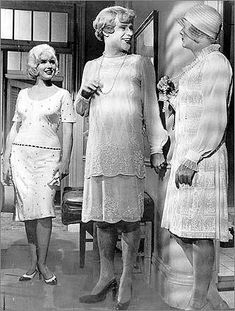 "Marilyn Monroe as Sugar Kane, Jack Lemmon as Daphne and Tony Curtis as Josephine in ""Some Like it Hot."" 1957"