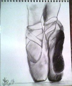 Pointe Shoes: I love ballet and I teach ballet classes every week. My hobbies include drawing and photography.  ***Note from Kerry: I love this drawing, Megan, it is