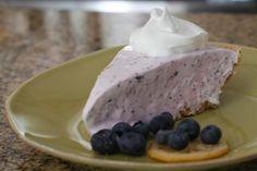 Frozen Blueberry Lemonade Pie: Blueberry Lemonade Pie