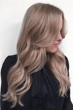 Rose-Tinted Ash Blonde