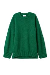 <p>The Direct Sweater in a super soft wool blend is a key piece for the cold weather closet. It has a comfortable oversize fit, softly dropped shoulders and solid ribbed finishes.<br /><br />-Size Small measures 116 cm in chest circumference, 59 cm in length and 71 cm in sleeve length.</p>