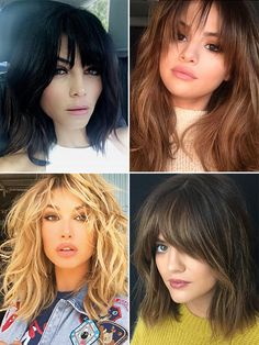 Fall Fringe — Hairstylist Tips For Bangs Like Selena Gomez, Hailey Baldwin & More