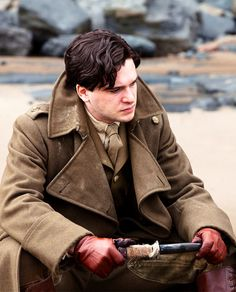 Roland Leighton - Kit Harington in Testament of Youth, set during World War I (2014).