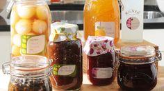 Oppskrift på bringebær-, blåbær- og jordbær syltetøy