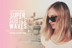 There's a new fingerwave in town! A quick way to get natural looking waves for FINE/STRAIGHT hair.