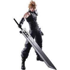 Play Arts Kai Figures - Final Fantasy - FFVII Cloud Strife Remake Version