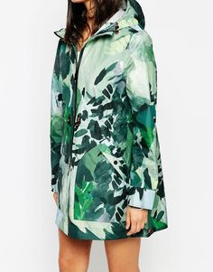 Image 3 ofHunter Festival Parka With Botanical Print
