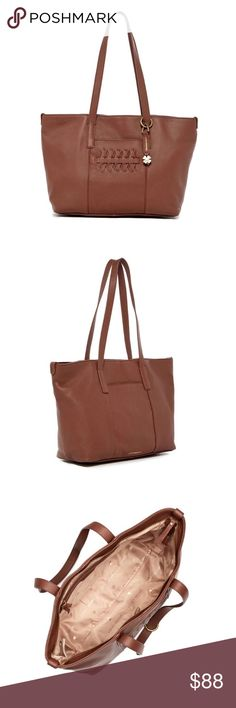 FLASH SALE 💗Kingston leather tote Quality leather tote. Affordable tote at over $100 off. All original packaging Lucky Brand Bags Totes