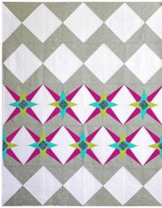 New Chevron Star Quilt Pattern - And It's On Sale!