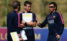 How Luis Enrique Is Using Technology In His Advantage