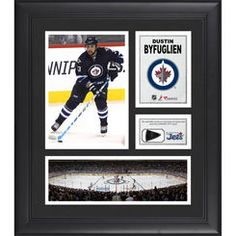 Dustin Byfuglien Winnipeg Jets Framed 15'' x 17'' Collage with Piece of Game-Used Puck