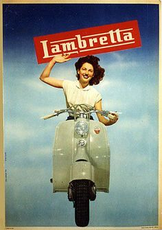 Vintage Italian Posters ~ Lambretta