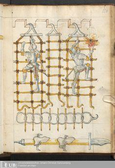 241 [120r] - Ms. germ. qu. 14 (Ausst. 48) - Rüst- und Feuerwerksbuch - Page - Mittelalterliche Handschriften - Digitale Sammlungen