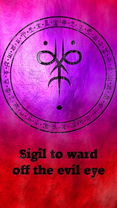 Sigil to ward off the evil eye