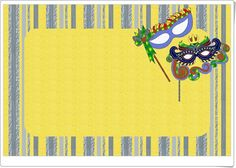"Diversas y atractivas ""Tarjetas para Carnaval"" en ohmyfiesta.com. Mardi Gras, Guppies, Oh My Fiesta, Blogger Templates, Recipe Cards, Greeting Cards, Birthday Parties, Printables, Scrapbook"