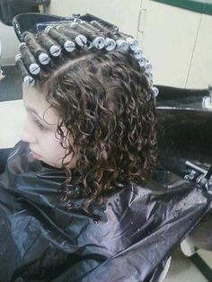 Perms Before And After, New Perm, Perm Rods, Roller Set, Permed Hairstyles, Long Hair Cuts, Curlers, Curly Hair Styles, Hair Beauty