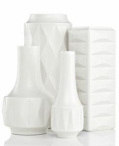 kate spade new york Vases, Castle Peak Collection - Bowls & Vases - Home Decor - Macy's Bridal and Wedding Registry. Gotta love Kate Spade! #macysdreamregistry