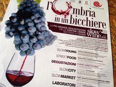 L'Umbria in un Bicchiere 2015 con 56 Cantine Umbre #SlowFood #Vino #Umbria #Foligno