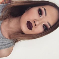 Everything is perfection on her face, want to badly pull this off myself