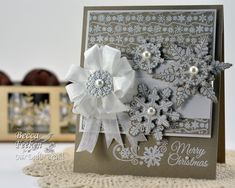 Stacked Snowflakes. Becca Feeken, Amazing Paper Grace