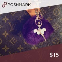 Bag charm Brand new, generic brand. A beautiful addition to your Louis Vuitton bag. Price is firm💕 Louis Vuitton Accessories