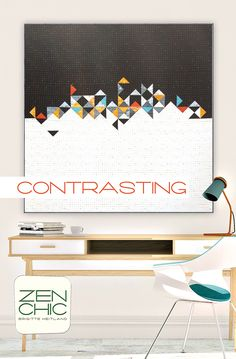 Contrasting Pattern by Zen Chic@