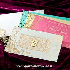 Our Hindu wedding cards collection is finest & represents colorful mood of wedding. Wedding Invitation Wording Templates, Indian Wedding Invitation Cards, Wedding Invitations Online, Elegant Wedding Invitations, Invites, Hindu Wedding Cards, Wedding Card Design, Wedding Preparation, Wedding Stuff