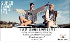Kiboots sample sale -- Amsterdam -- 26/07-27/07