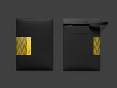 Dribbble - Our envelope by Tandem Shirt Packaging, Brand Packaging, Packaging Design, Branding Design, Bakery Packaging, Corporate Branding, Logo Branding, Mailer Design, Box Design