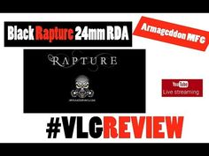 Black Rapture 24mm Armageddon MFG Live Greek review Black Rapture 24mm Armageddon MFG Live Greek review περισσοτερες πληροφοριες http://ift.tt/2x3tDpC Features 6mm Side Airflow adjustable with a teardrop configuration 7mm x 2mm bottom adjustable airflow 24mm RDA Inverted clamping system Stainless Steel Deck Ultem doughnut drip tip Authentication Card ----------------------------------------------------------------------------------------------- Οποιος θελει να παρει το mix shot συνταγη μου…