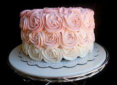 Ombré smash cake