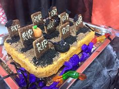 Bolo de cemitério / Cemitery cake
