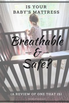 A baby's crib mattress is one of the most important purchases for safety and sleep purposes! Check out this full review of the Newton Wovenaire Crib Mattress, and see why its unique breathability makes this a baby registry essential and nursery must have. @newtonbabyrest #newtonbaby #sponsored #babyregistry