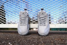 Air Jordan XII Low Wolf Grey