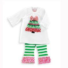 291533 Christmas Jon Jon Baby Clothes Matching by ZuliKids, $28.50 ...