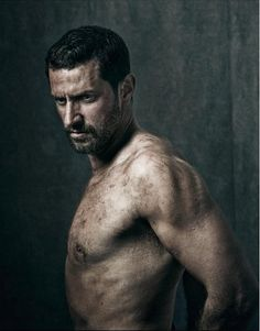 Richard Armitage as a John Proctor, photo by Jay Brooks, shot in June 2014 (The Crucible posters) published on Instagram on 18-11-2016
